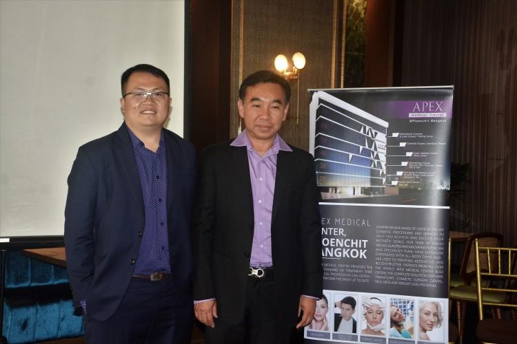 Eu Jindao & Dr. Tanomkit Pawcsuntorn