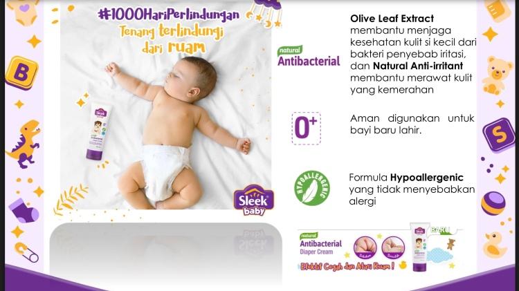 Sleek Baby Diaper Cream
