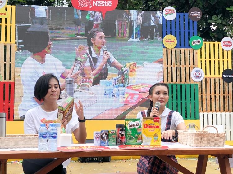 'Awali Hari Baik dengan Nestle' Taman Menteng, 17 Februari 2019