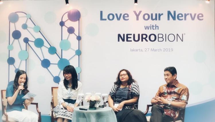 Rry Rivano, Neurobion Solusi Total untuk Kesehatan Saraf