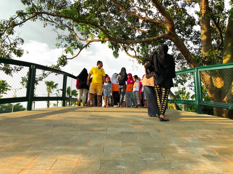 Jembatan Hijau, Alun Alun Taman Kota Depok, Rry Rivano