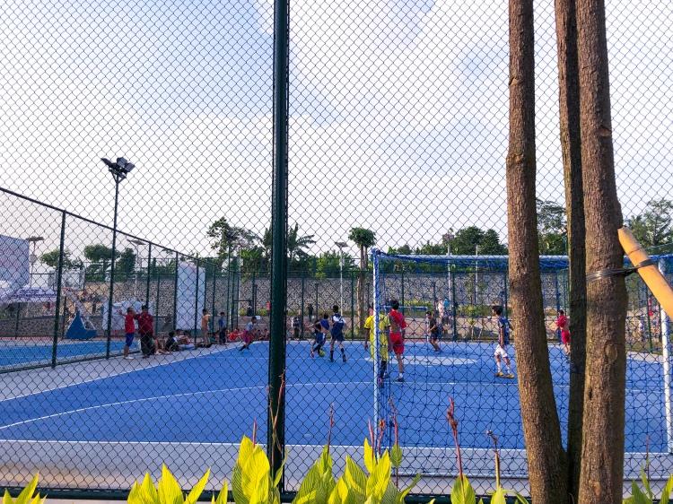 Lapangan Futsal, Alun Alun Taman Kota Depok, Rry Rivano