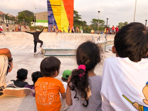 Penonton Skate Park
