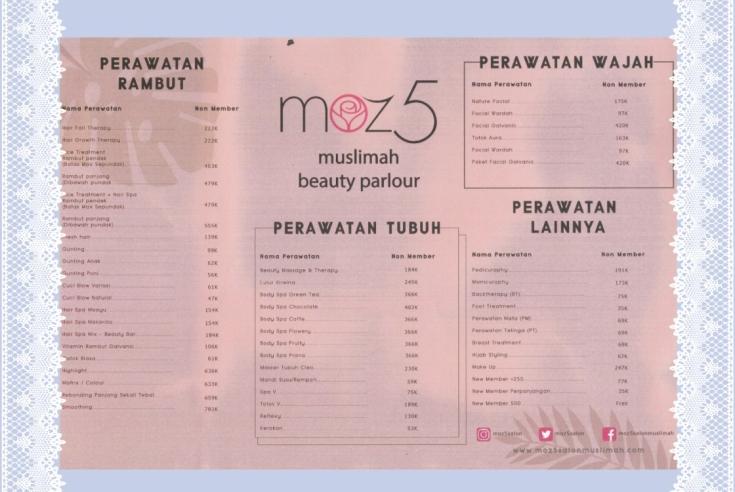 Moz5 Muslimah Beauty Parlour Tebet
