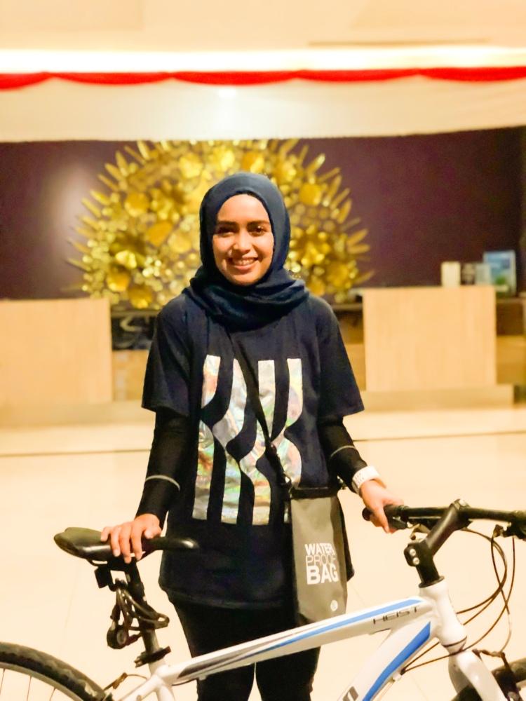 Padang, Sepedahan rry rivano