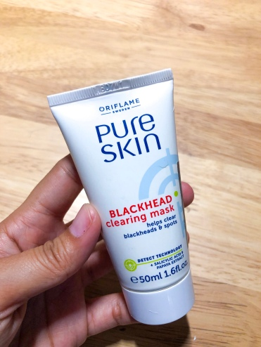 rryrivano.com oriflame Pure Skin Blackhead Clearing Mask